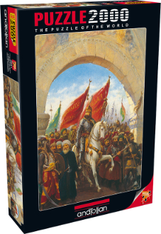 İstanbul\'un Fethi / Entering to Constantinople (2000 parça)